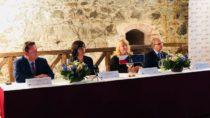Slavnostní zahájení projektu Kunětická hora Dušana Jurkoviče – básníka dřeva